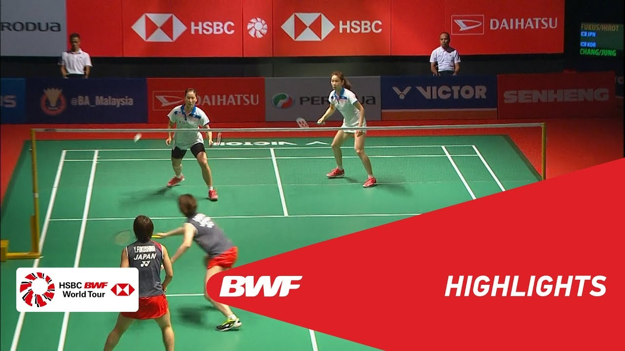 PERODUA Malaysia Masters 2019  WD - QF - HIGHLIGHTS  BWF
