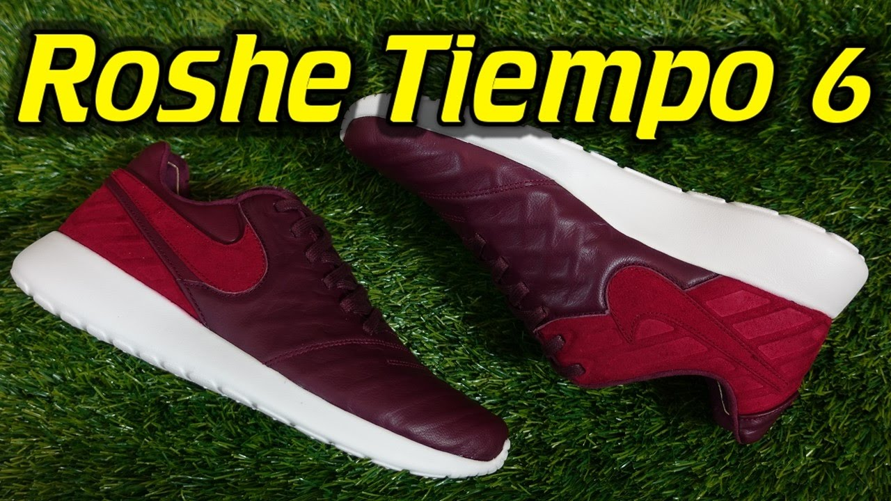 a3f299725cd0 Nike Roshe Tiempo 6 - Review + On Feet - YouTube