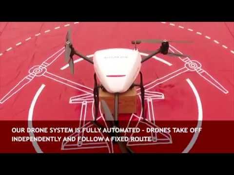 Um dos maiores revendedores online da China está construindo um drone de entrega que pode transportar 900 kg de carga