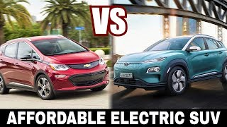 All-New Hyundai Kona Electric VS Chevy Bolt: Choosing Most Affordable Electric SUV