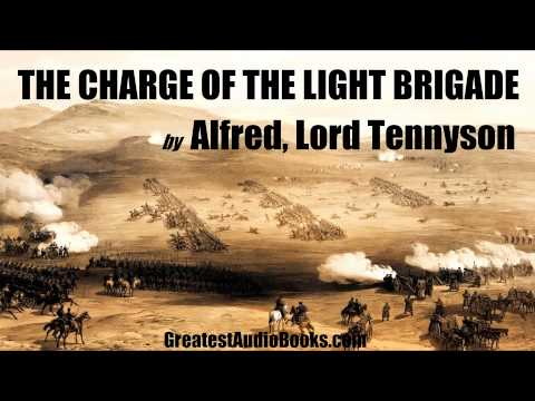 THE CHARGE OF THE LIGHT BRIGADE by Alfred, Lord Tennyson - FULL AudioBook | GreatestAudioBooks.com