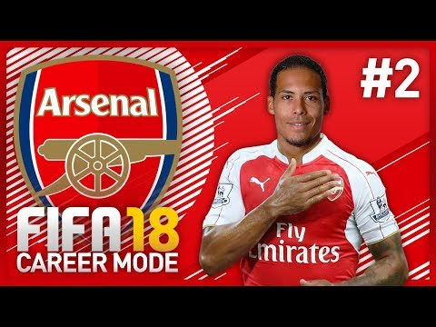 COMMUNITY SHIELD VS CHELSEA! FIFA 18 ARSENAL CAREER MODE - EPISODE #2