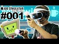 DER HÄRTESTE JOB DER WELT MIT PLAYSTATION VR 🐲 Let's Play Job Simulator VR #001 [Facecam/Deutsch]