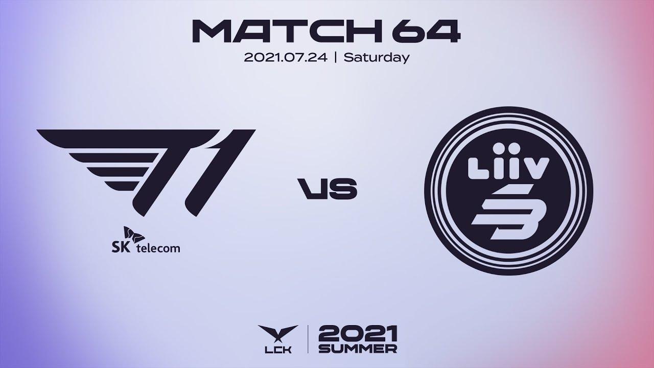 T1 vs. 리브 샌박 | 매치64 하이라이트 | 07.24 | 2021 LCK 서머 스플릿
