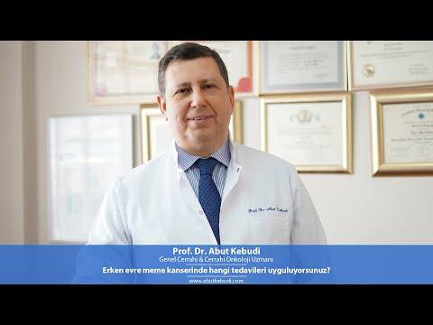 Erken evre meme kanserinde hangi tedavileri uyguluyorsunuz? - Prof. Dr. Abut Kebudi