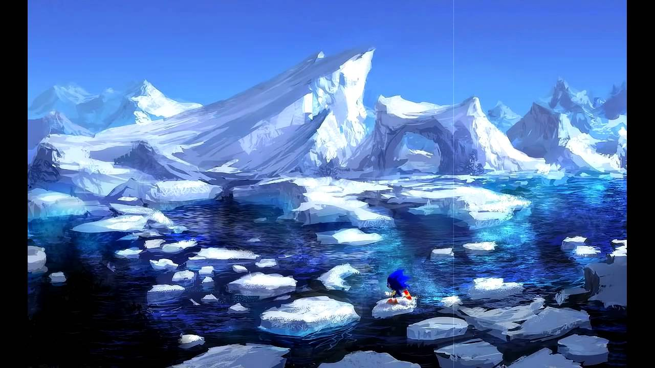 How To Make 3d Wallpaper Ice Cap Zone Theme Cover Sonic The Hedgehog 3 Youtube