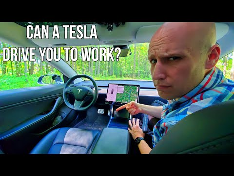 Can Tesla Full Self Driving Take You To Work in 2020? What Percent of My Commute is Using Autopilot?