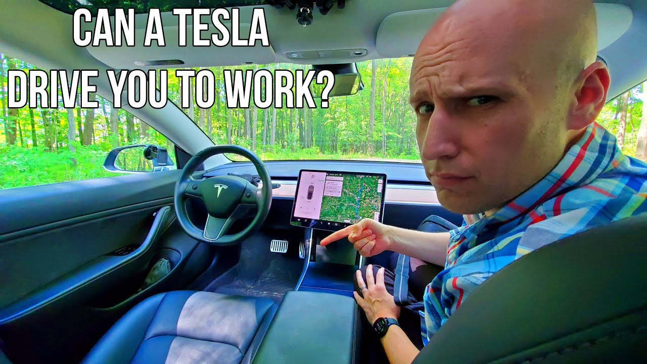 Can Tesla Full Self Driving Take You To Work in 2020? | Percent of My Commute is using Autopilot?