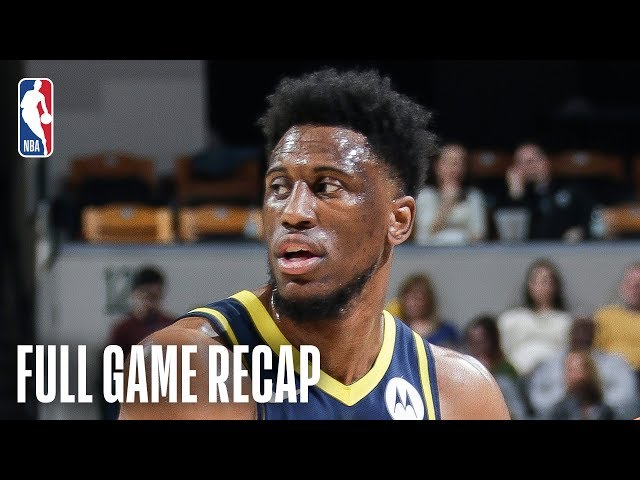 PELICANS vs PACERS   Pacers Make 2nd Half Comeback   February 22, 2019