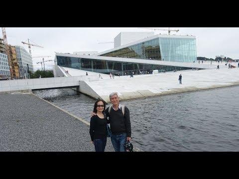 VQTG 18: Oslo Opera House: đá trắng trên biển xanh bắc cực