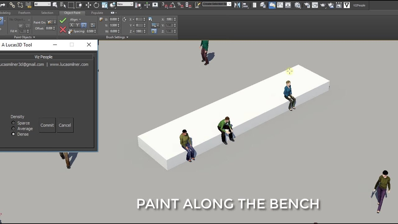 Download vizPeople for 3ds Max - FREE Plugin to create People in 3ds Max