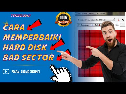 CARA MEMPERBAIKI HARD DISK BAD SECTOR - TUTORIAL KOMPUTER