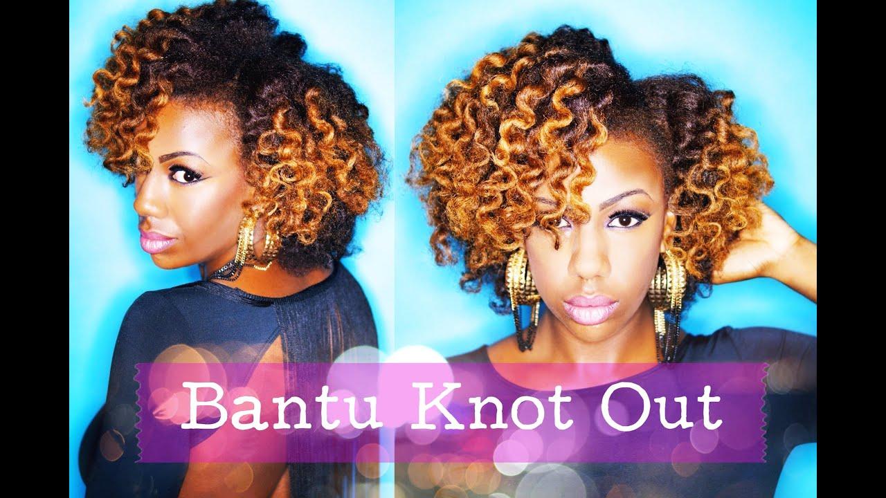 Natural Hair Styles Bantu Knots: Bantu Knot Out
