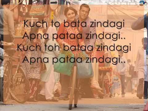 Zindagi Kuch Toh Bata Full Song with LYRICS -...