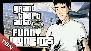 GTA 5 FUNNY MOMENTS: ¡¡PERSECUCIONES Y ACCIDENTES!! (GTA V GAMEPLAY)