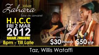 Zahara - Live In Concert H.I.C.C Harare, Zimbabwe on Friday 2 March 2012