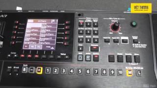 Hướng dẫn cách Backup và Restore cho đàn Roland E-A7