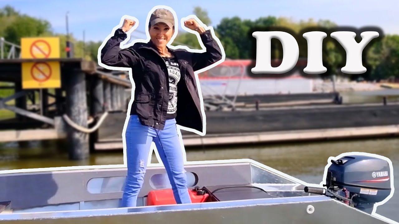 Строительство лодки: 5 месяцев за 10 минут. Building a boat: 5 month in 10 minutes.