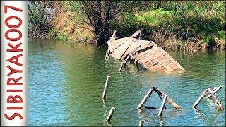 Рыбалка на Микроджиг. У Старого моста. Простой и КЛЁВЫЙ монтаж на Окуня