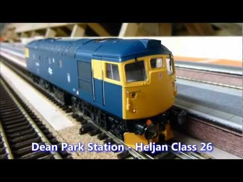 Dean Park Station Video 11 - Fitting Snow plough to Heljan Class 26
