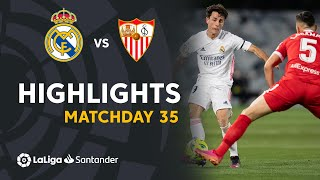Highlights Real Madrid vs Sevilla (2-2)