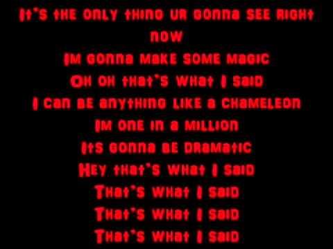 what i said let it shine karaoke with lyrics