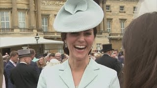 Kate Middleton: Are kiddies over here as well behaved as they are in Australia