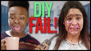 DIY FAIL!? w/ Jay Versace & Griffin Arnlund  | HACKING HIGH SCHOOL