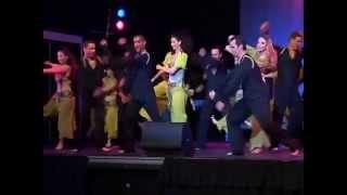 ויבן עוזיהו - מחול בביצוע להקת ״אנחנו כאן״ - מופע ברוסיה