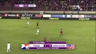 USMNT @ Panama 2013 hex wcq first half