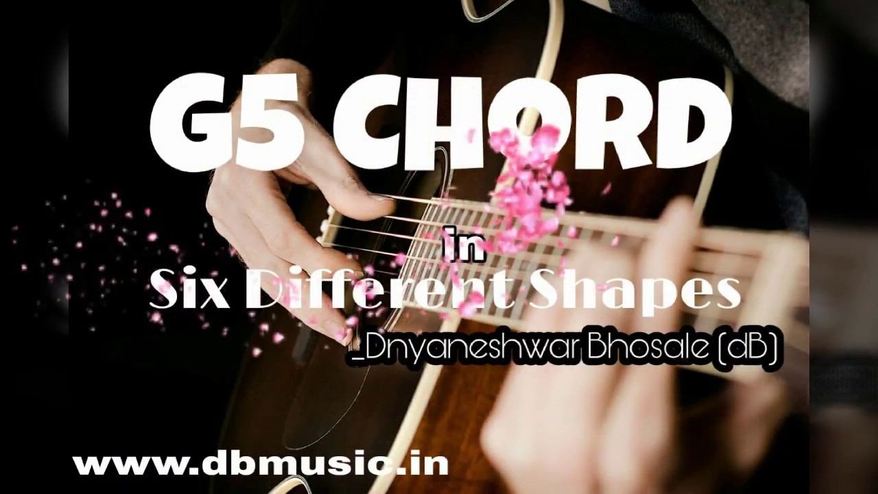 G5 chord in 6 different shapes youtube g5 chord in 6 different shapes hexwebz Choice Image