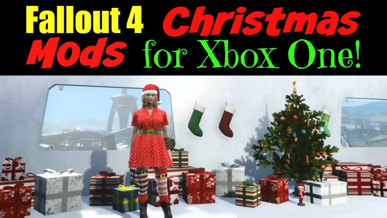 Fallout 4 Christmas Mods for Xbox One! - YouTube
