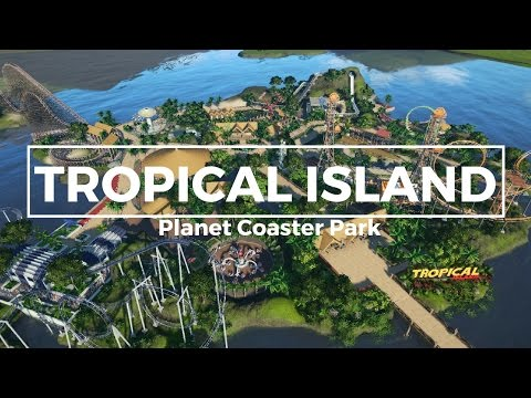 Planet Coaster - Tropical Island (Cinamatic & POVs)