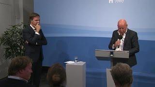 Rutte Op Persconferentie: 'nou Meneer Wester, Vert   Rtl Nieuws