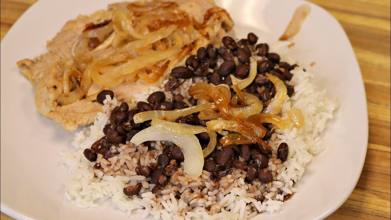 Cuban pork with black beans and rice healthy recipe channel easy cuban pork with black beans and rice healthy recipe channel easy dinner cooking channel goya forumfinder Choice Image