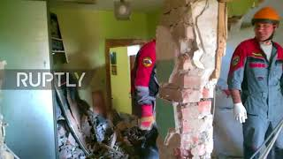 Russia  No casualties reported as domestic explosion devastates apartment in Khabarovsk