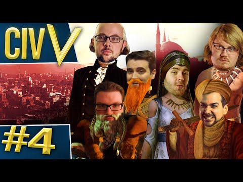 Civ V: Big Hitters #4 - Trouble in Paradise