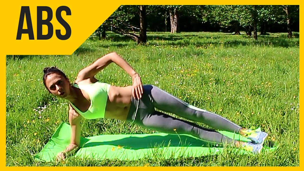 Side Abs workout - Trim your waist size