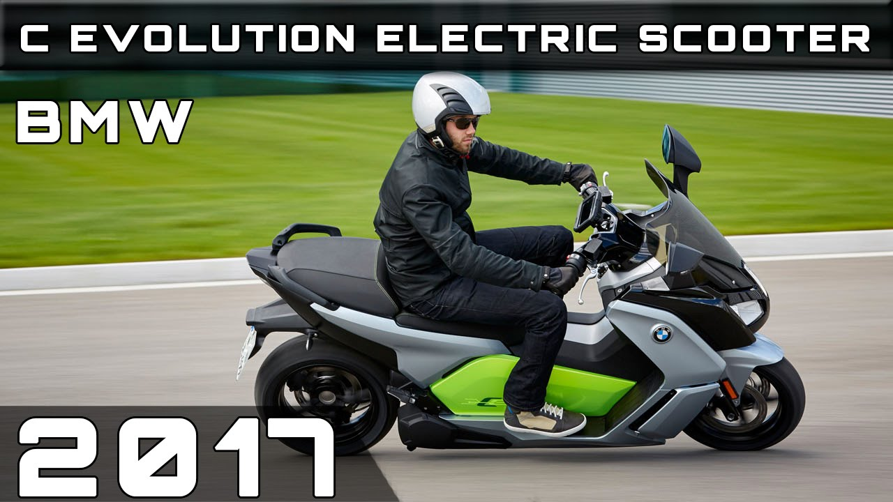 2017 bmw c evolution electric scooter youtube. Black Bedroom Furniture Sets. Home Design Ideas