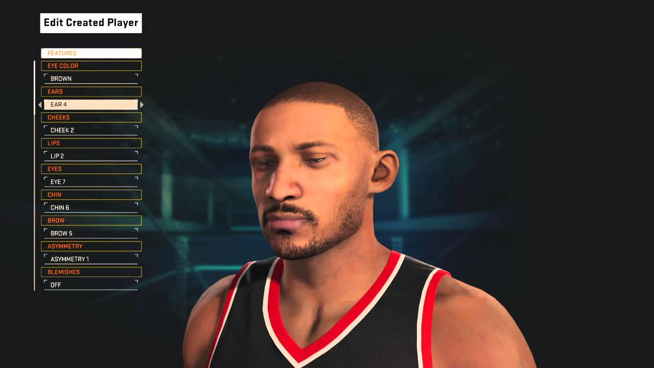 How to create throwback Grant Hill NBA 2K15