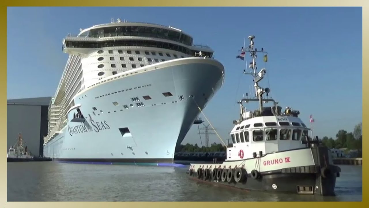 QUANTUM OF THE SEAS | Float Out / Ausdocken | Meyer ...Quantum Of The Seas Float Out