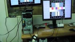 DisplayPort To DVI 1X2 Splitter (R06-CVT-102D-P)(Sample Video)