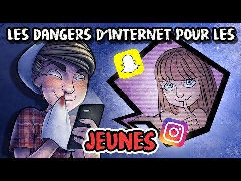 #LMPC2 - Les dangers d'internet chez les jeunes.