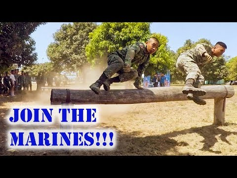 Join the Marines!!! | Cadets of Philippine Merchant Marine A