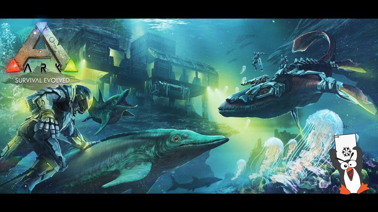 Base sous-marine, Leedsichthys , Ichthyornis Maj 256 Ark