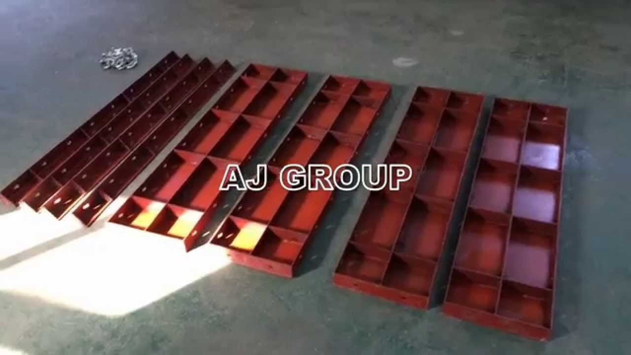 Assembly of Steel Formwork
