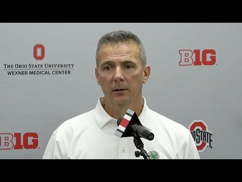 Urban Meyer: Ohio State update, Northwestern preview