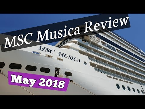 MSC Musica Review, May 2018, Italy-Greek Islands.