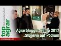 Tierschützerin stört Agrarblogger-Camp in Münster - Schauspielerin legt Bauern rein