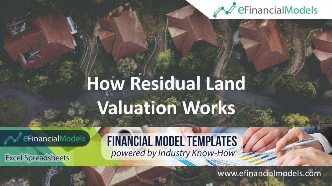 Residual Land Value Calculation Model | eFinancialModels